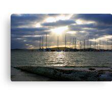 Albany Sailing Club, Western Australia Canvas Print
