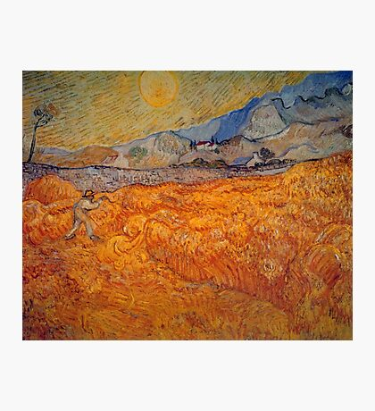 'Reaper' by Vincent Van Gogh (Reproduction) Photographic Print