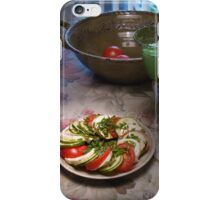 Salad Plate iPhone Case/Skin