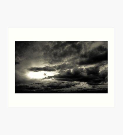 Nubes Art Print