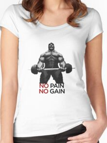 Barbell BULK Women's Fitted Scoop T-Shirt