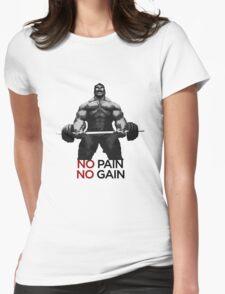 Barbell BULK Womens Fitted T-Shirt