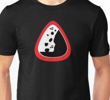 Guitar Pick / Plectrum: Traffic sign falling rocks Unisex T-Shirt