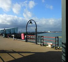 Southend Pier, Essex by kathrynsgallery