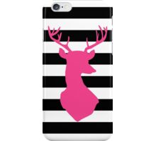 Deer - Pink iPhone Case/Skin