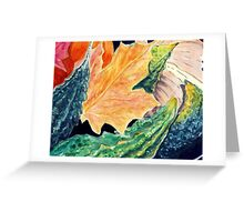 Autumnal still life Greeting Card