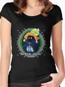 Black Mage Women's Fitted Scoop T-Shirt