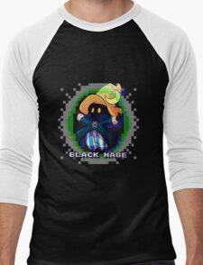 Black Mage Men's Baseball ¾ T-Shirt