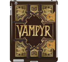 Vampyr Book - Buffy the Vampire Slayer iPad Case/Skin
