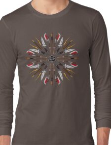 Buffy Mandala Long Sleeve T-Shirt