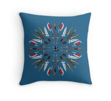 Buffy Mandala Throw Pillow