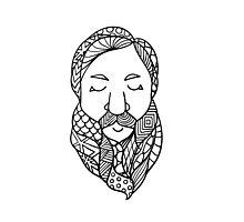Beards 2 Photographic Print