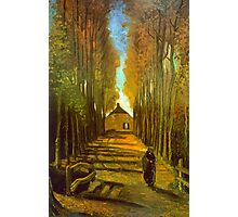 'Autumn' by Vincent Van Gogh (Reproduction) Photographic Print