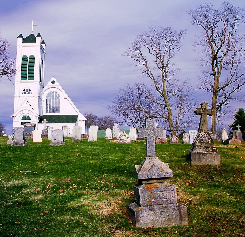 Churchyard by Nancy Barrett