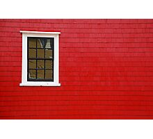 Adams & Knickle:  RED Photographic Print