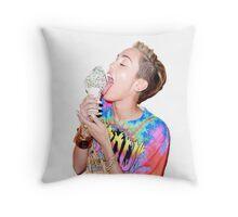 Miley Cyrus Throw Pillow