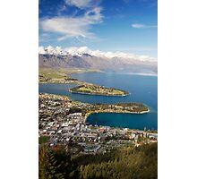 Queenstown From Above Photographic Print