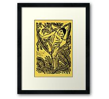 Up the Plumeria Tree Framed Print