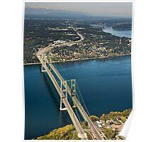The Narrows Bridges Poster