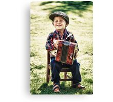 retro boy Canvas Print