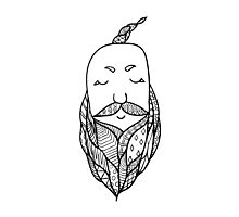 Beards 6 Photographic Print