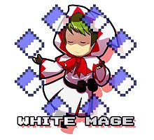 White Mage by blibbles