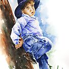 The Little Cowboy by Stephie Butler