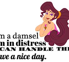 I'm A Damsel - Hercules Quote by folie-a-dont