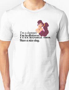 I'm A Damsel - Hercules Quote T-Shirt