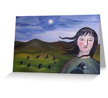 Moonlit Stone Circle  Greeting Card