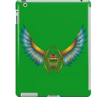 Scarab for a new day iPad Case/Skin