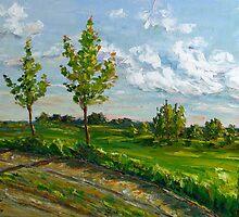 Tender Spring by Claudia Hansen