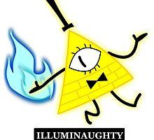 Bill Cipher- Illuminaughty by 2TruthsAndAlyza
