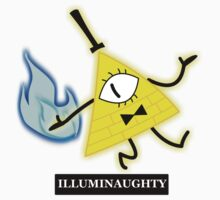 Bill Cipher- Illuminaughty One Piece - Short Sleeve