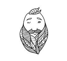 Beards 10 Photographic Print
