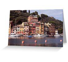 Marina Della Portofino Greeting Card