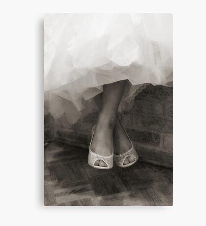 Wedding Shoes  Canvas Print