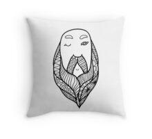 Beards 12 Throw Pillow