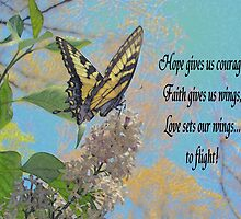 Hope Faith & Love by loramae