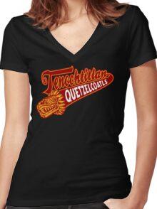 Aztec Sport Women's Fitted V-Neck T-Shirt
