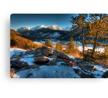 Rocky Mountain National Park Canvas Print