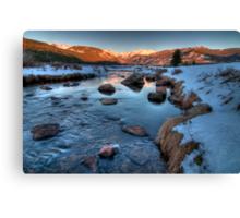 Moraine Park, Colorado Canvas Print