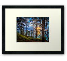Norfolk Is. First Light Framed Print