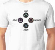 "Press ""X"" to ""Jason"" Unisex T-Shirt"