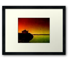 Let The Quiet In. Framed Print