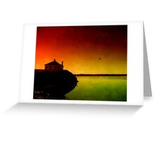 Let The Quiet In. Greeting Card