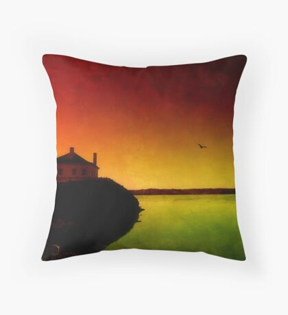 Let The Quiet In. Throw Pillow