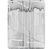 Refracture of the False Mend // Blackline iPad Case/Skin