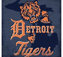 detroit tigers by Sydney Eller