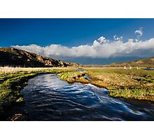 Inlet to Jordanelle Reservoir in Utah #1 Photographic Print